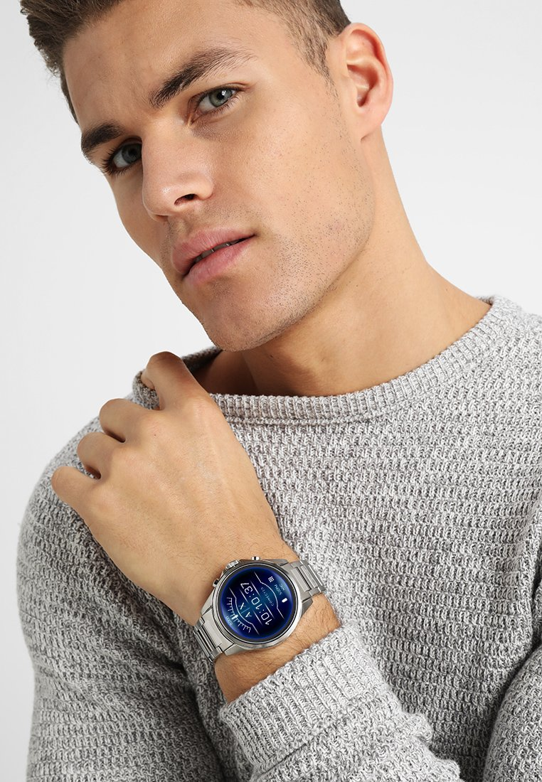 Armani Exchange Connected - Smartwatch - silver-coloured