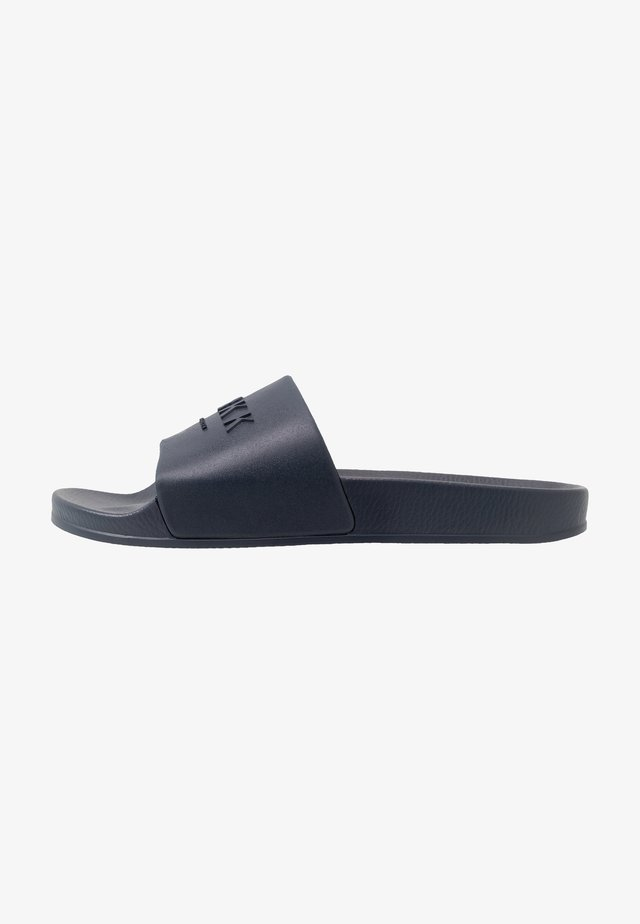 SLIDES - Pantolette flach - midnight