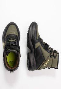 ARKK Copenhagen - High-top trainers - moss/green/black - 1