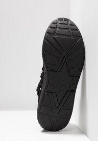 ARKK Copenhagen - RAVEN - Sneakers laag - all black/white - 4