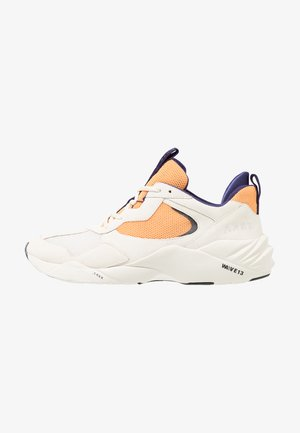 KANETYK - Sneakers - offwhite/blazing orange