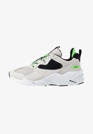 KANETYK SUEDE 2.0 - Trainers - soft grey/vivid green