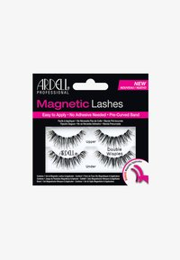 Ardell - MAGNETIC STRIP LASH DOUBLE WISPIES - Künstliche Wimpern - - - 0