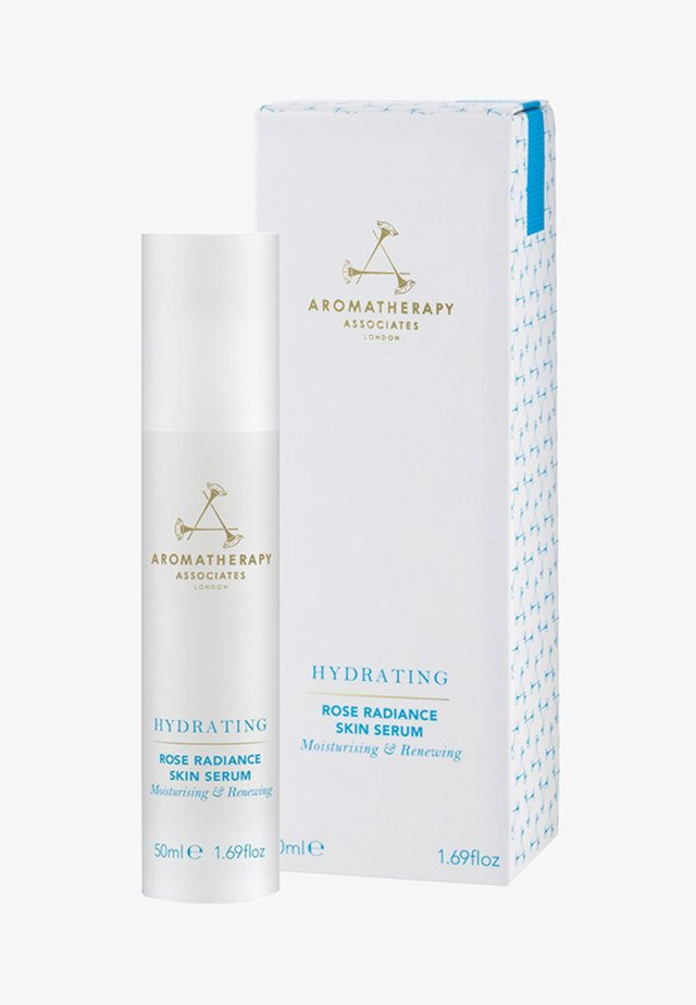 AROMATHERAPY ASSOCIATES HYDRATING ROSE RADIANCE SKIN SERUM - Serum - transparent
