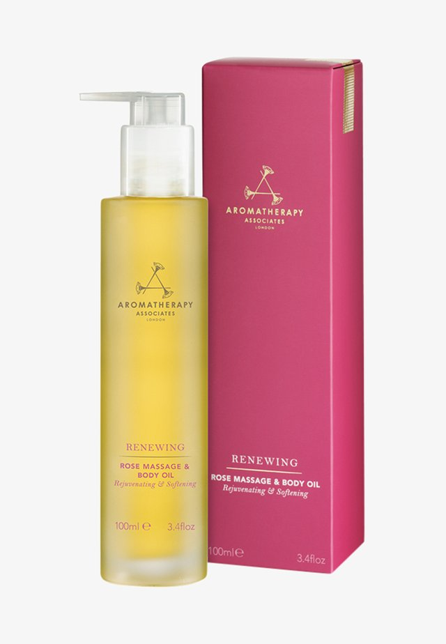 AROMATHERAPY ASSOCIATES RENEWING ROSE MASSAGE & BODY OIL - Body oil - -