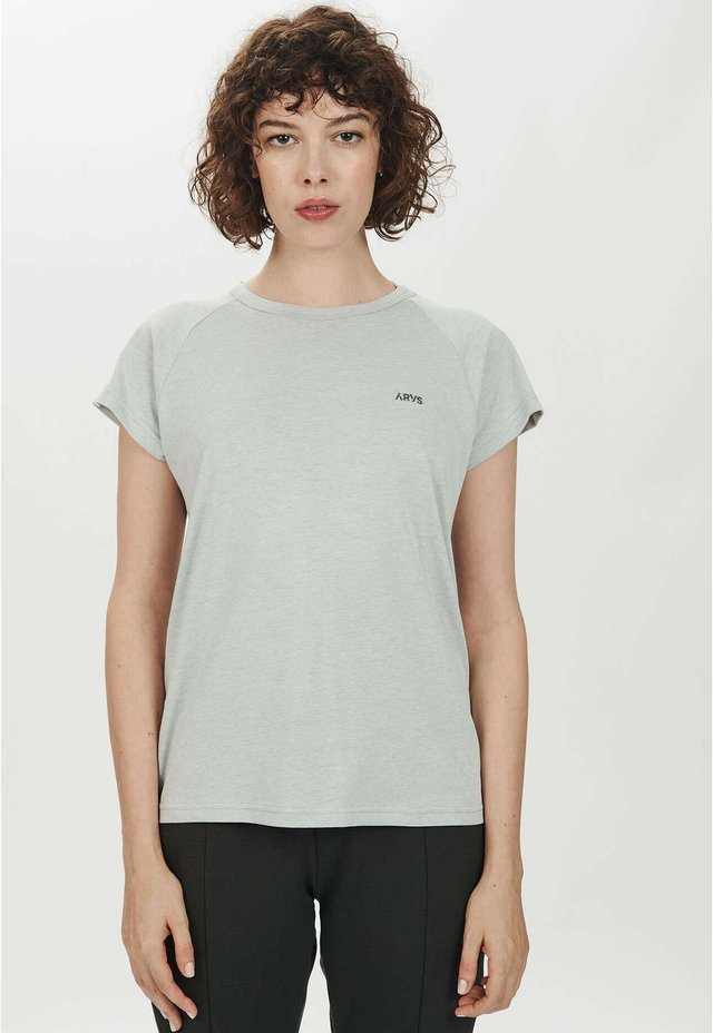 T-Shirt basic - clouded white