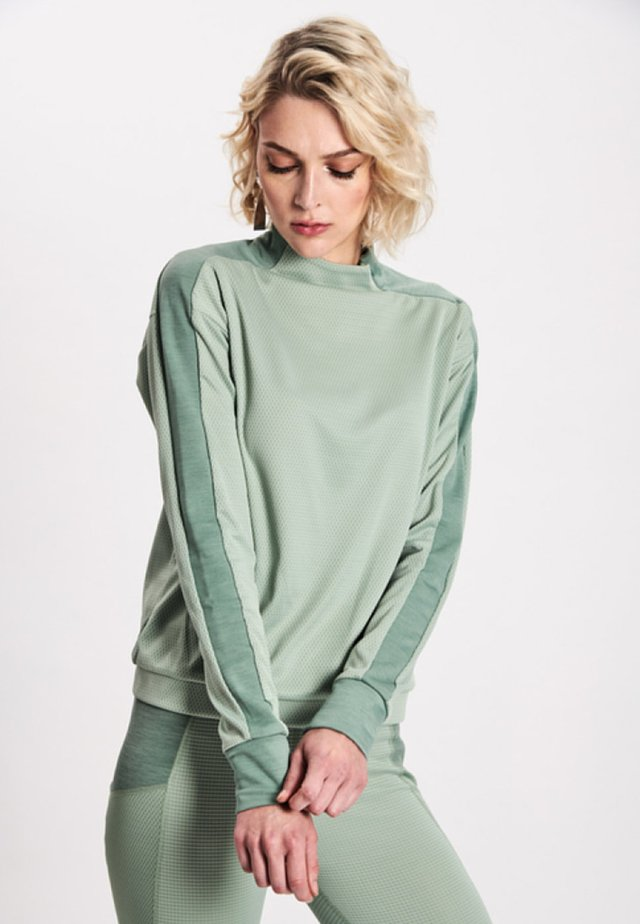 Sweatshirt - glacier green