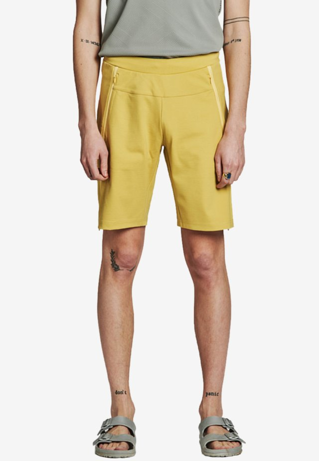 Shorts - mustard yellow