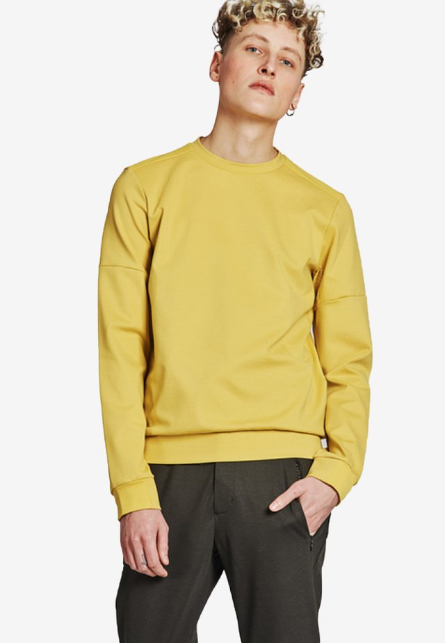 Sweatshirt - mustard yellow