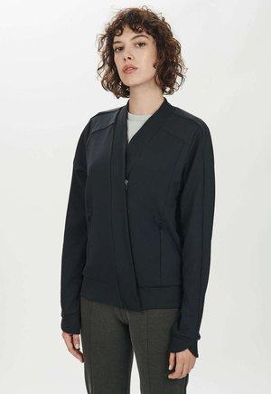 JOY - Zip-up hoodie - raven