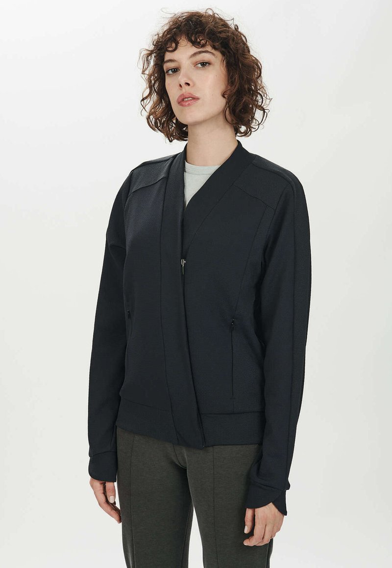 ARYS - JOY - Zip-up hoodie - raven