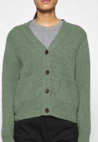 ARKET - CARDIGAN - Cardigan - green medium dusty - 5