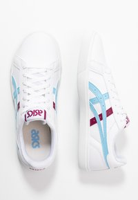 ASICS SportStyle - CLASSIC - Trainers - white/arctic sky - 3