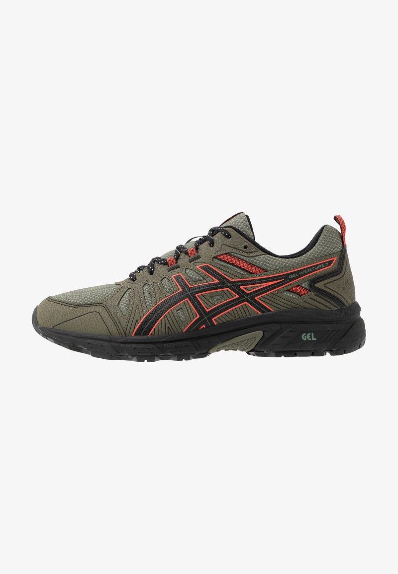 ASICS SportStyle - GEL VENTURE 7 - Sneakersy niskie - lichen green/black