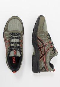 ASICS SportStyle - GEL VENTURE 7 - Sneakersy niskie - lichen green/black - 1