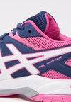 ASICS - GEL-COURT HUNTER 3 - Zapatillas de voleibol - indigo blue/white/azalea pink