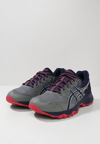 ASICS - GEL-SONOMA 3 G-TX - Trail running shoes - stone grey/pixel pink - 2