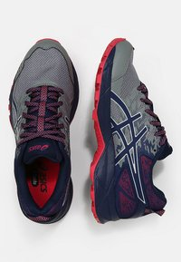 ASICS - GEL-SONOMA 3 G-TX - Trail running shoes - stone grey/pixel pink - 1