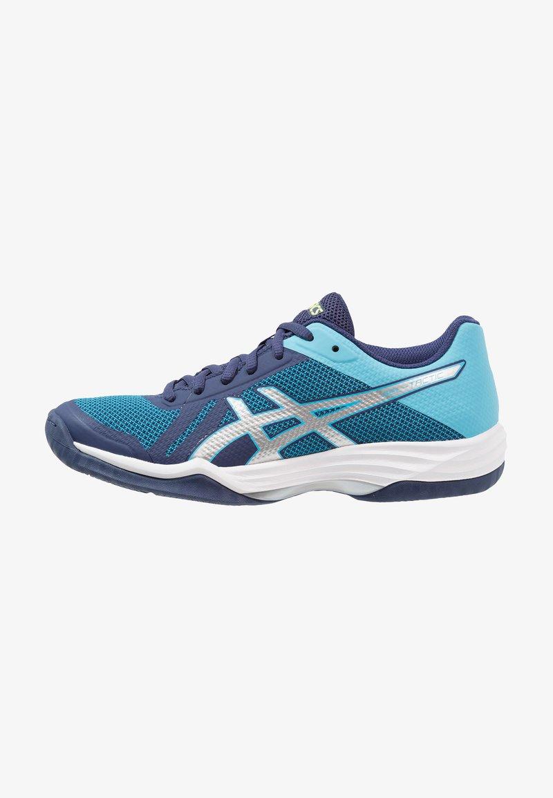 ASICS - GEL-TACTIC - Volejbalové boty - indigo blue/silver