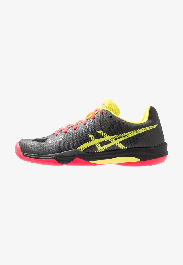 GEL-FASTBALL 3 - Handball shoes - black/sour yuzu