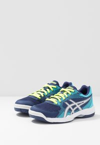 ASICS - GEL-TASK - Volleyball shoes - indigo blue/silver - 2