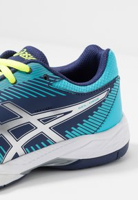 ASICS - GEL-TASK - Volleyball shoes - indigo blue/silver - 5