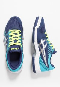 ASICS - GEL-TASK - Volleyball shoes - indigo blue/silver - 1