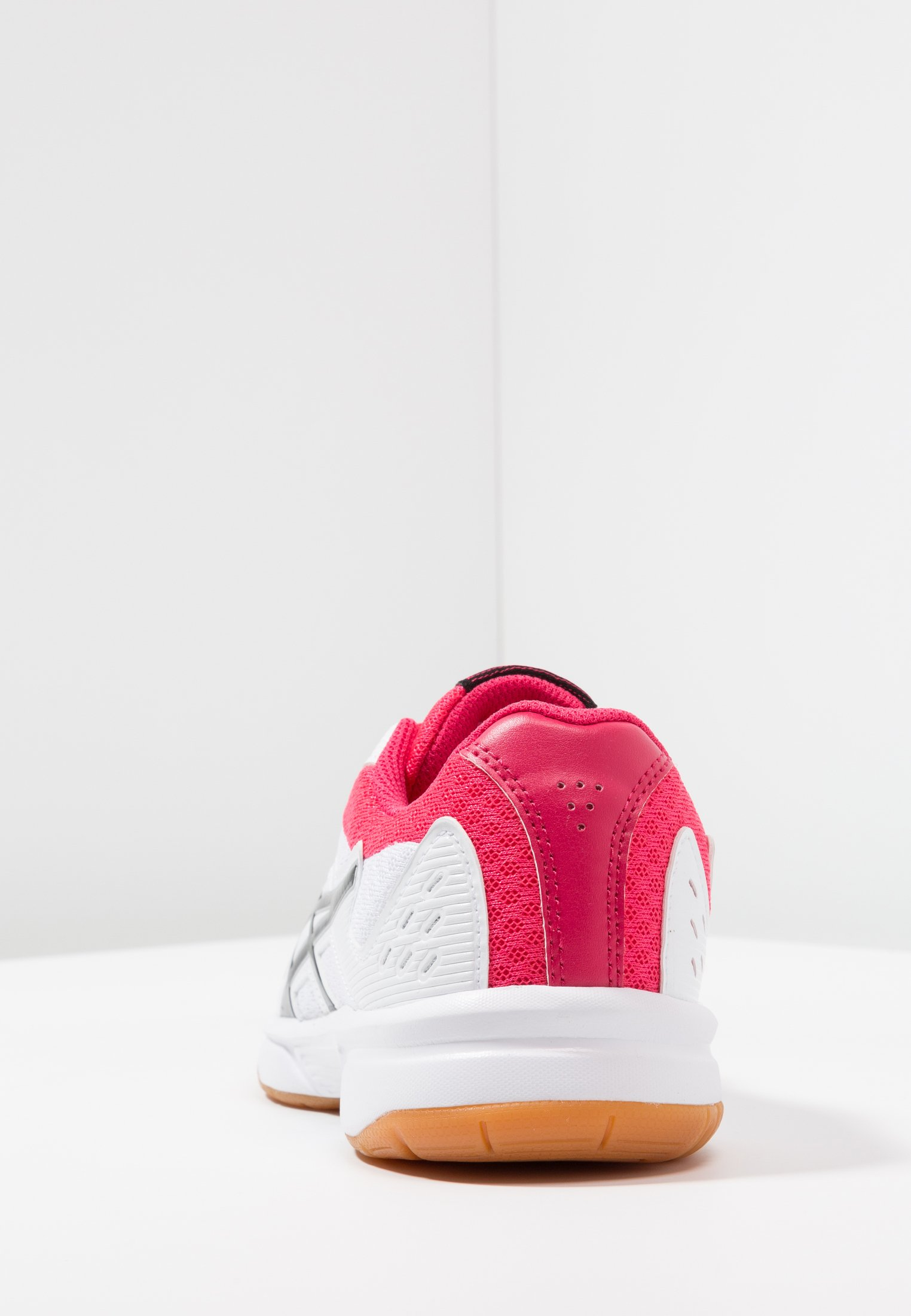 ASICS UPCOURT 3 - Volleyball shoes - white/pixel pink