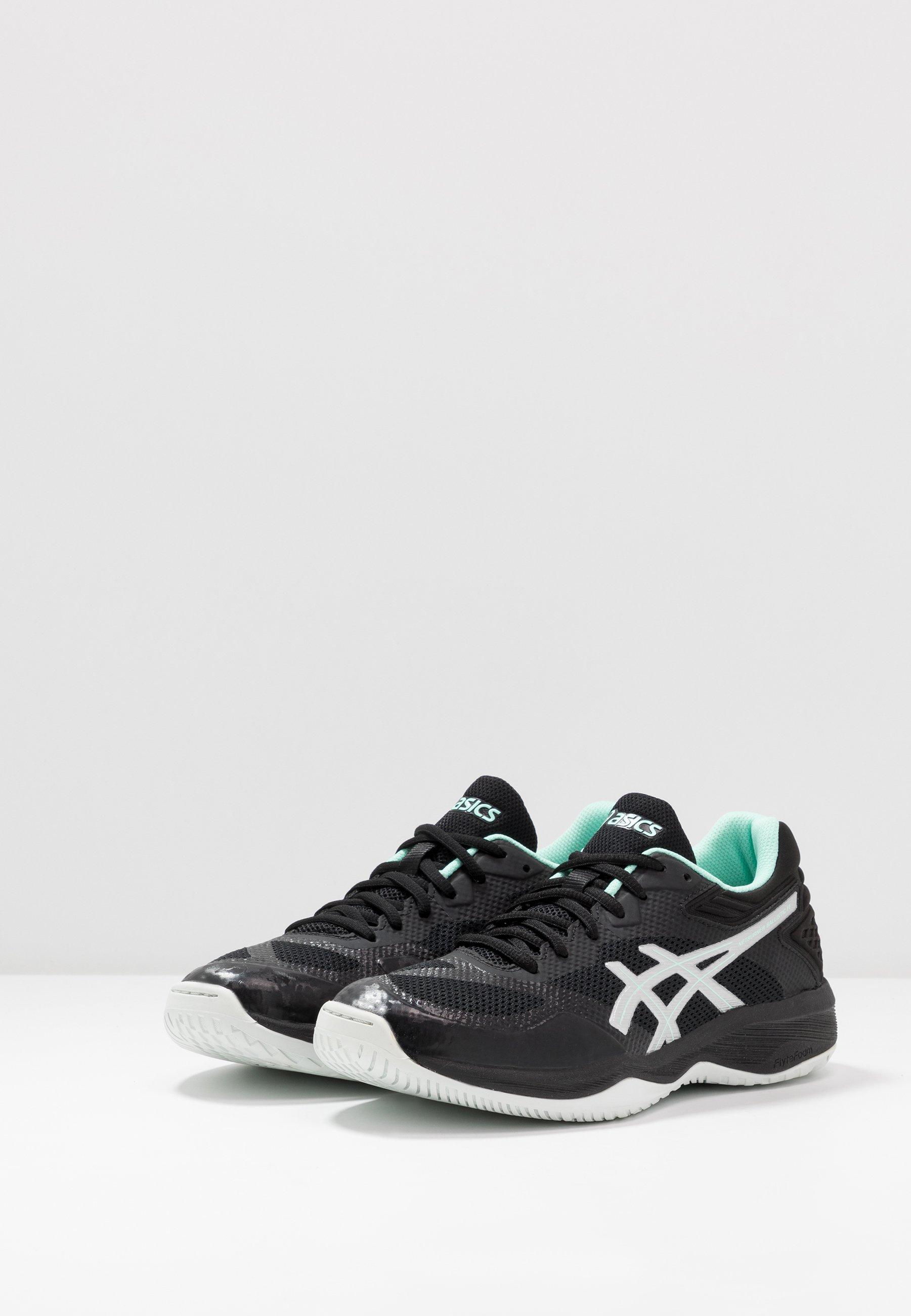 Asics Netburner Ballistic Ff - Zapatillas De Voleibol Black/pure Silver
