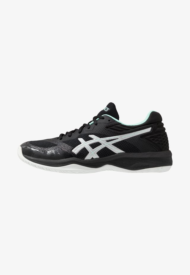 NETBURNER BALLISTIC FF - Volleyball shoes - black/pure silver