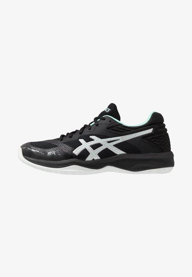 NETBURNER BALLISTIC FF - Chaussures de volley - black/pure silver