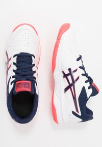 ASICS - COURT SLIDE - Multicourt tennis shoes - white/peacoat - 1
