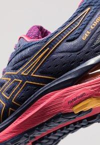 ASICS - GEL CUMULUS 20 G-TX - Neutral running shoes - indigo blue/amber - 5
