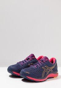 ASICS - GEL CUMULUS 20 G-TX - Neutral running shoes - indigo blue/amber - 2