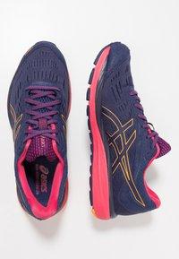 ASICS - GEL CUMULUS 20 G-TX - Neutral running shoes - indigo blue/amber - 1