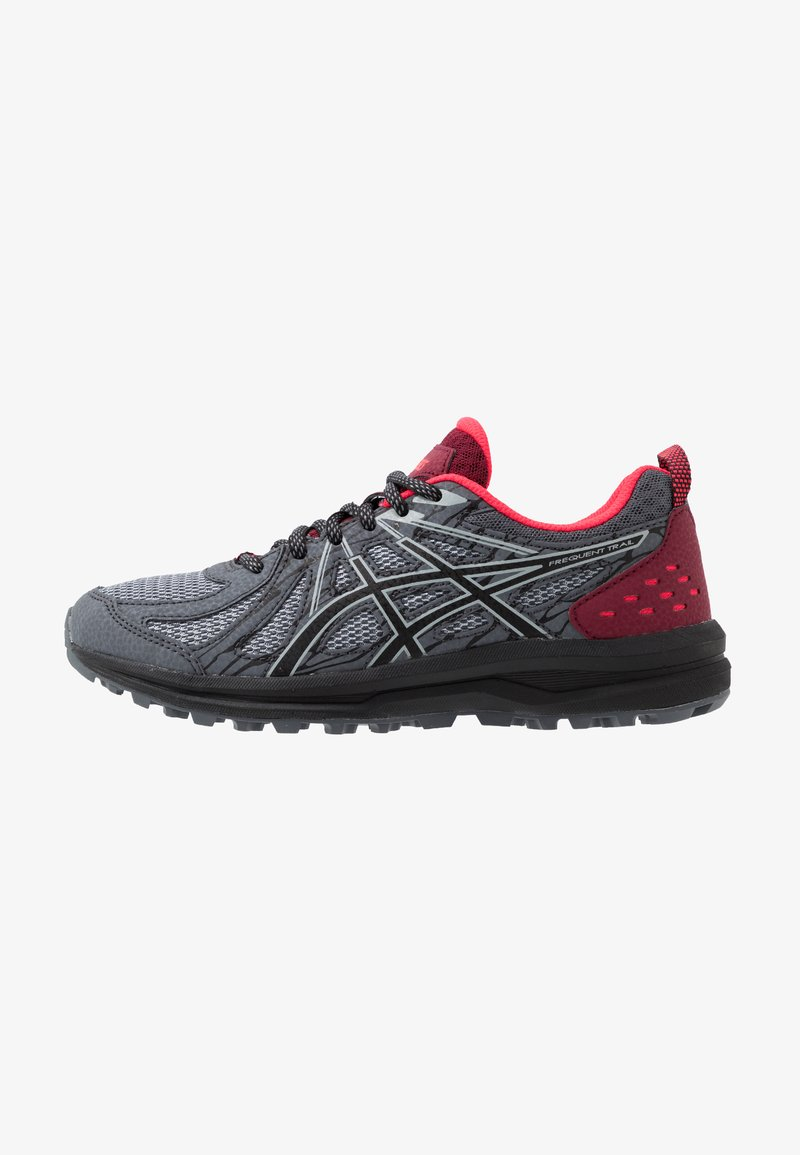 ASICS - FREQUENT TRAIL - Obuwie do biegania Szlak - piedmont grey/black