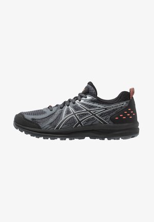FREQUENT TRAIL - Trail running shoes - black/piedmont grey