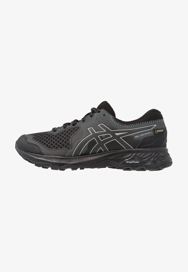 GEL-SONOMA 4 G-TX - Trail running shoes - black/stone grey