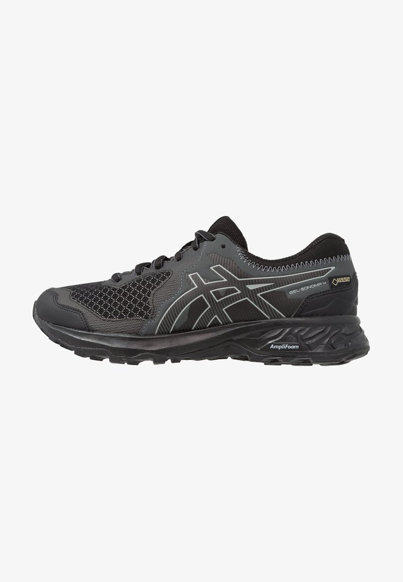 ASICS - GEL-SONOMA 4 G-TX - Běžecké boty do terénu - black/stone grey