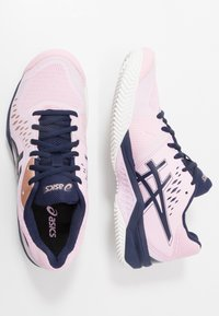 ASICS - GEL-CHALLENGER 12 CLAY - Clay court tennis shoes - candy/peacoat - 1