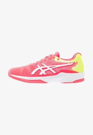 SOLUTION SPEED - Tennisschoenen voor alle ondergronden - laser pink/white