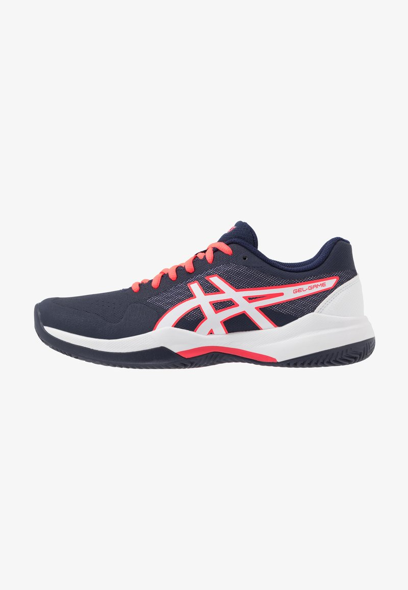 ASICS - GEL-GAME 7 CLAY - Clay court tennis shoes - peacoat/white
