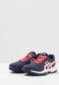 ASICS - GEL-GAME 7 CLAY - Clay court tennis shoes - peacoat/white - 2