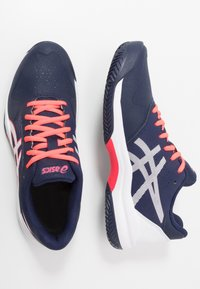 ASICS - GEL-GAME 7 CLAY - Clay court tennis shoes - peacoat/white - 1