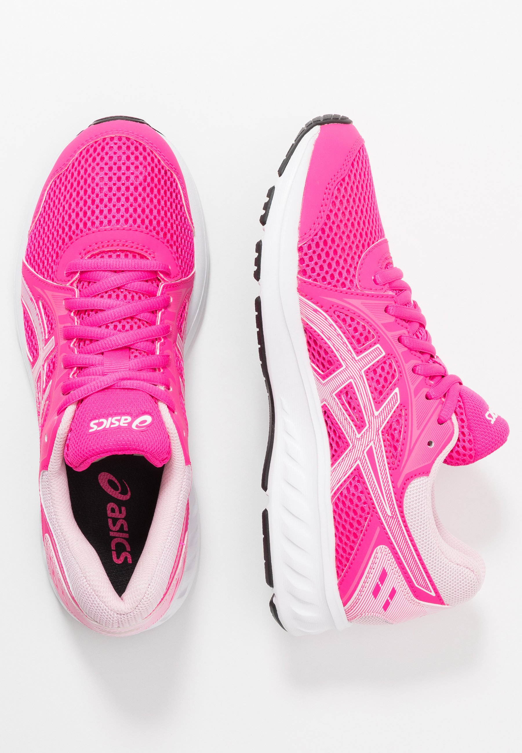 ASICS JOLT 2 - Obuwie do biegania treningowe - pink glow/white