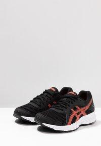 ASICS - JOLT 2 - Neutral running shoes - black/flash coral - 2