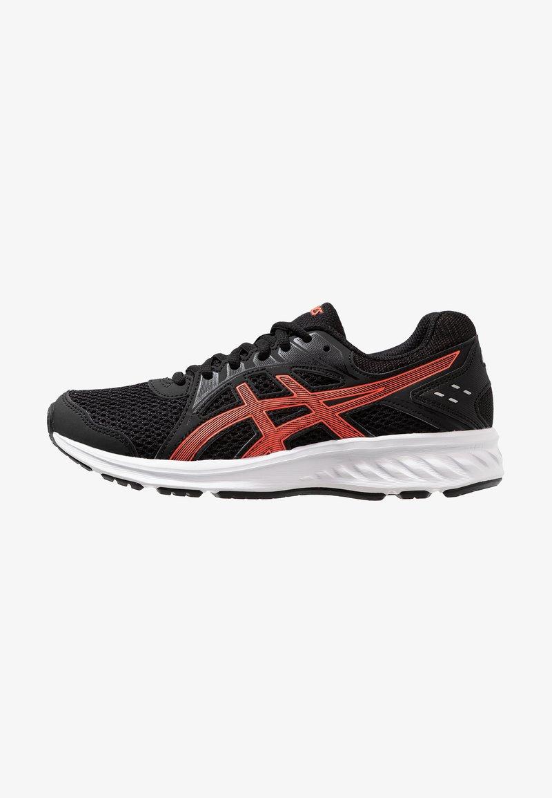 ASICS - JOLT 2 - Neutral running shoes - black/flash coral