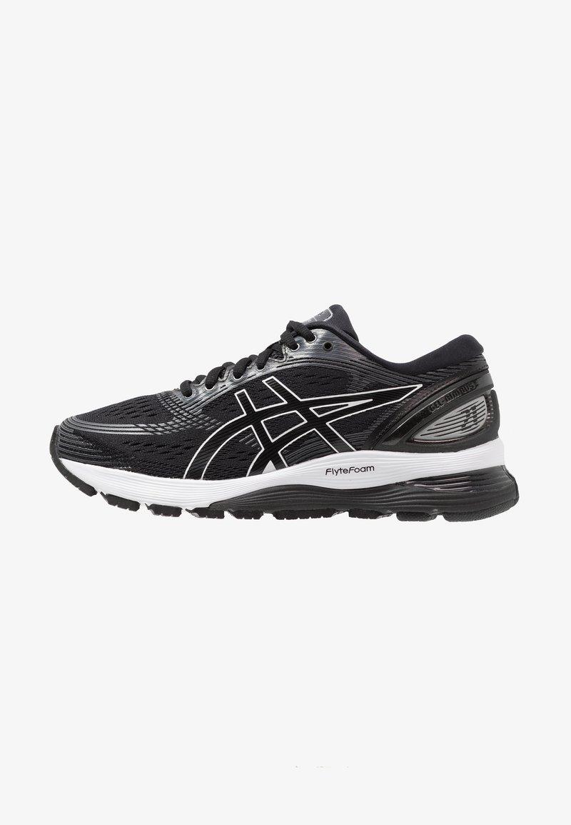 ASICS - GEL-NIMBUS 21 - Neutral running shoes - black/dark grey