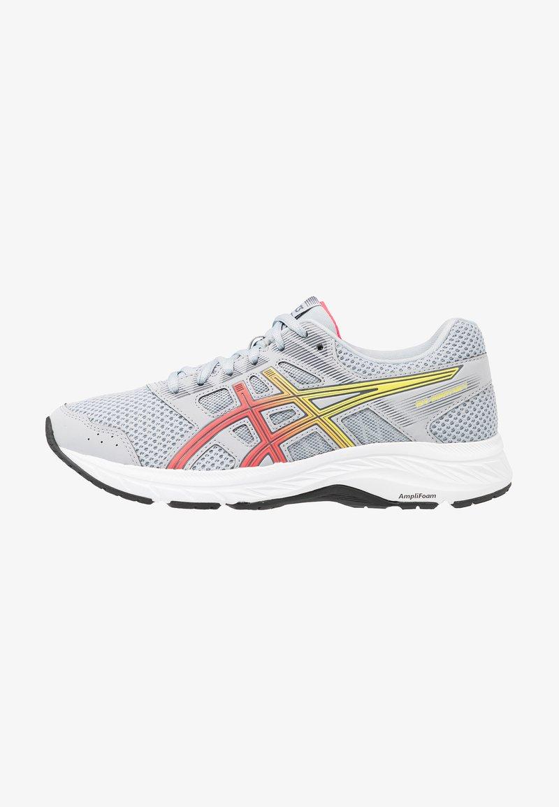 ASICS - GEL-CONTEND 5 - Zapatillas de running neutras - piedmont grey/laser pink