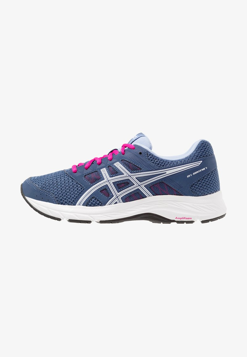 ASICS - GEL-CONTEND 5 - Scarpe running neutre - grand shark/white